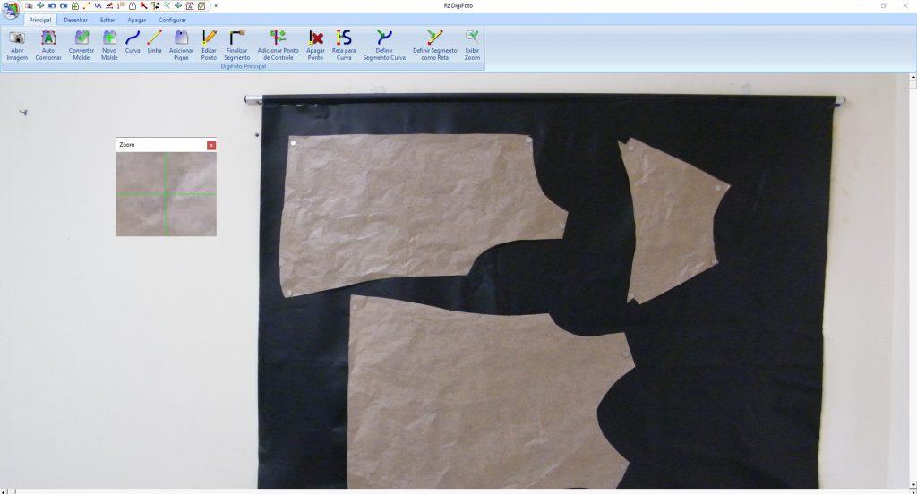 Digitalização de moldes por foto